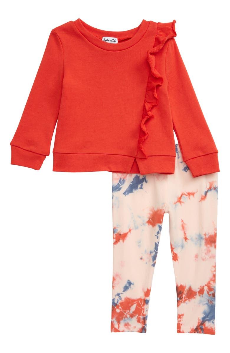 SPLENDID Sweatshirt & Leggings Set, Main, color, 620