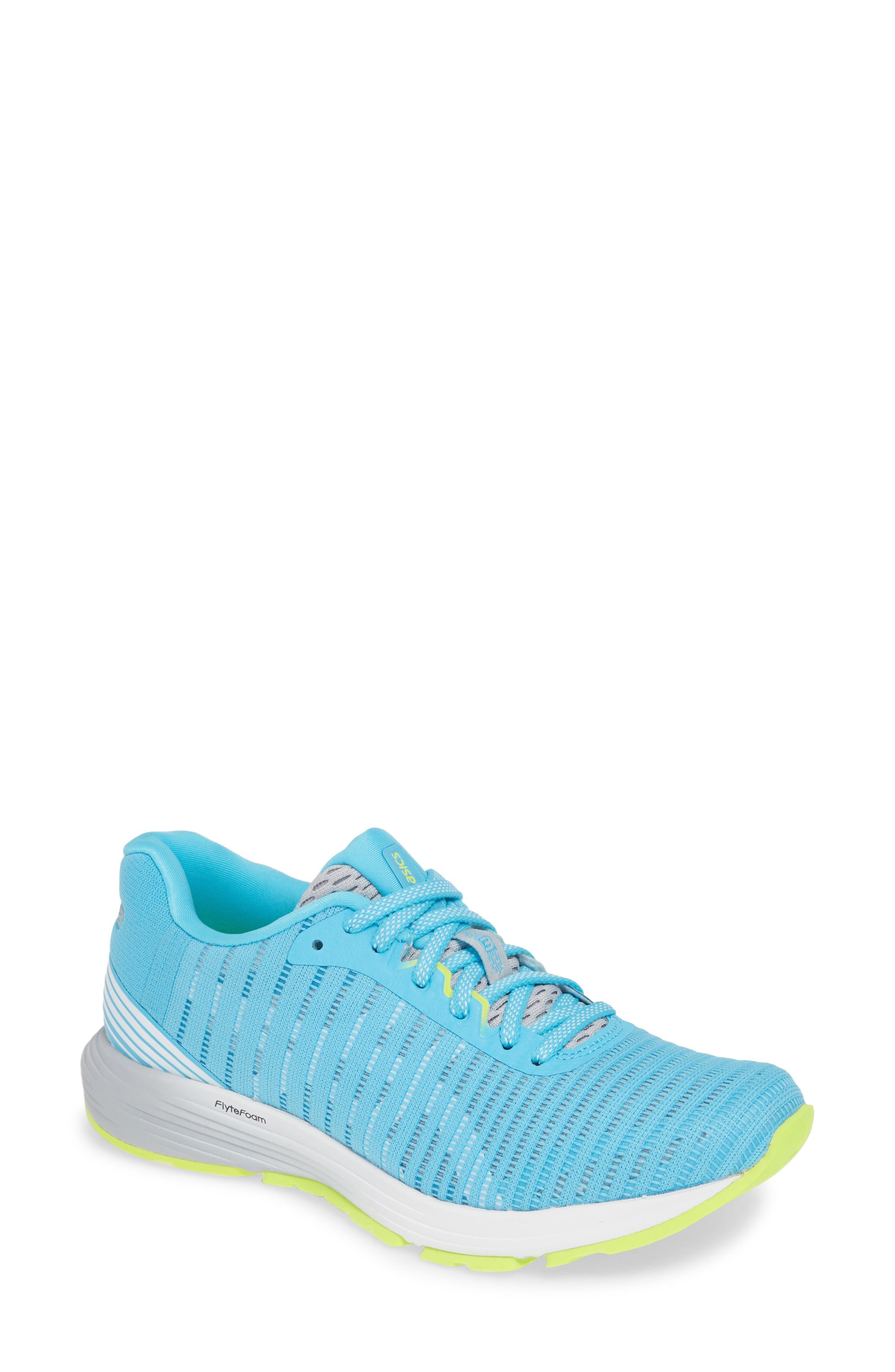 Asics Dynaflyte 3 Running Shoe, Blue/green