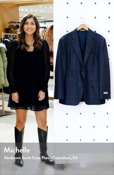 Kei Classic Fit Plaid Wool Sport Coat, sales video thumbnail