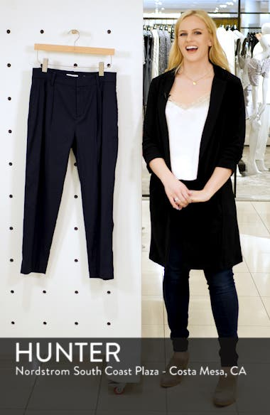 Tapered Cropped Pants, sales video thumbnail