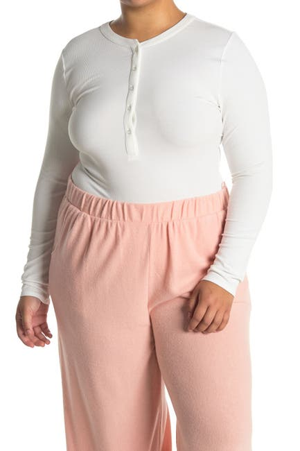 Image of Collective Concepts Henley Bodysuit