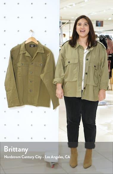 Curtis Military Shirt Jacket, sales video thumbnail