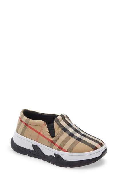 Burberry BRETY CHECK SLIP-ON SNEAKER