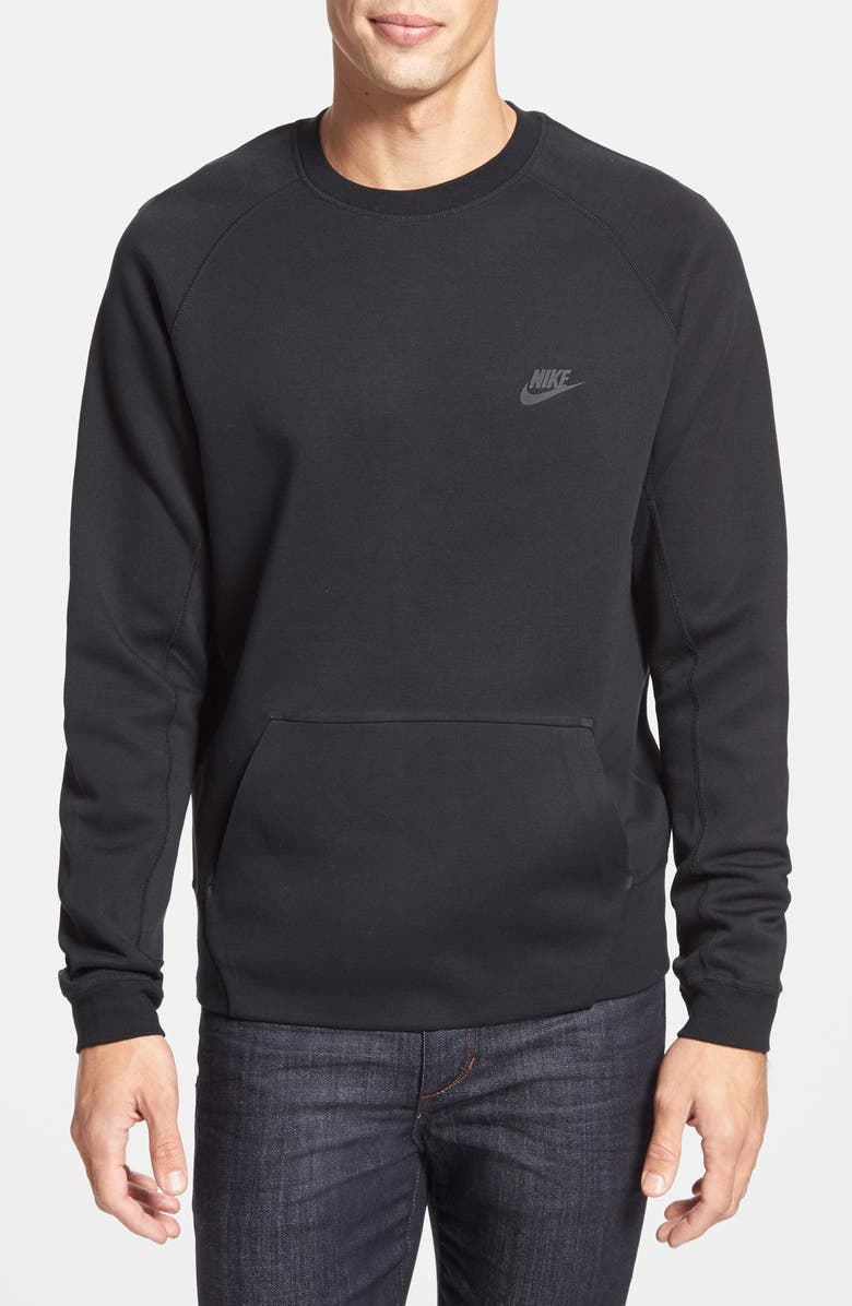 nike fleece crew sweatshirt