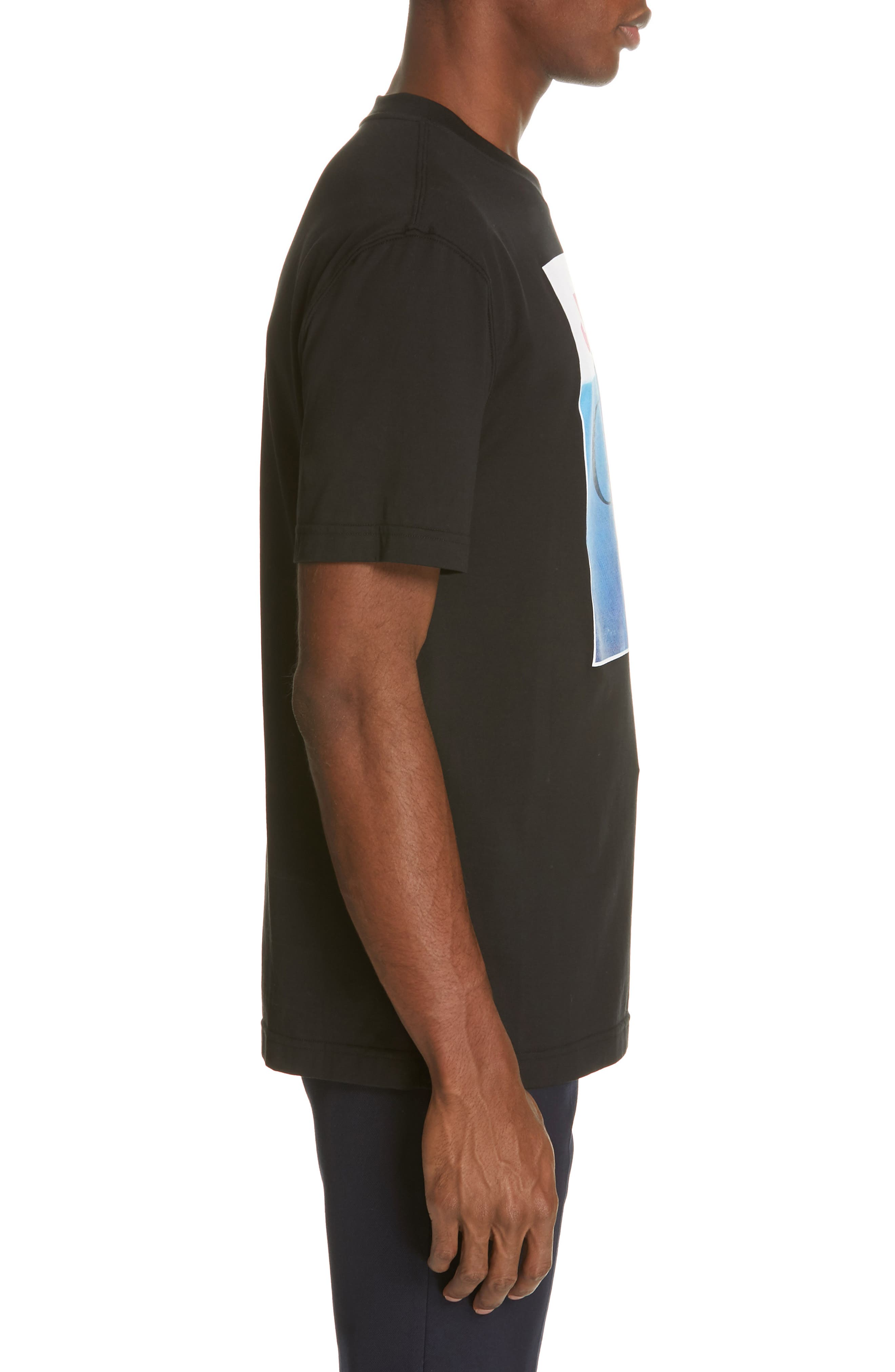 ,                             Jaws Graphic T-Shirt,                             Alternate thumbnail 3, color,                             BLACK