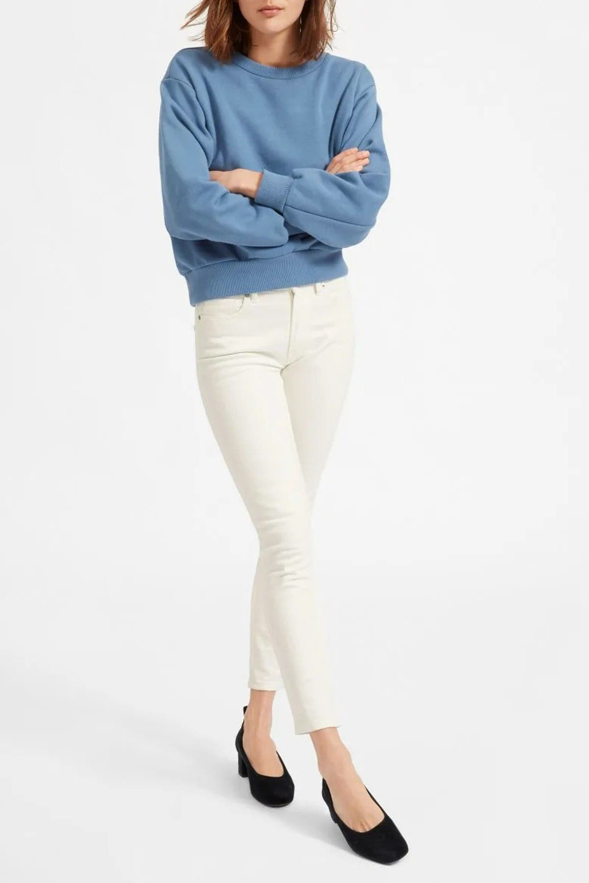 Image of EVERLANE The Mid-Rise Skinny Jeans