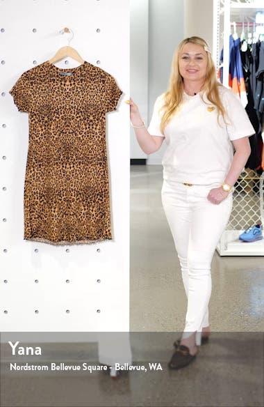 Leopard Print Rib Minidress, sales video thumbnail