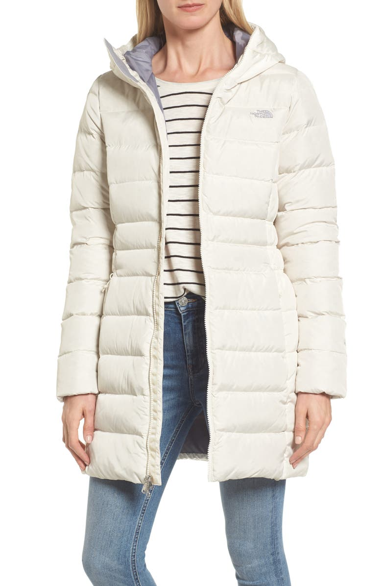 THE NORTH FACE Gotham II Down Parka, Main, color, VINTAGE WHITE