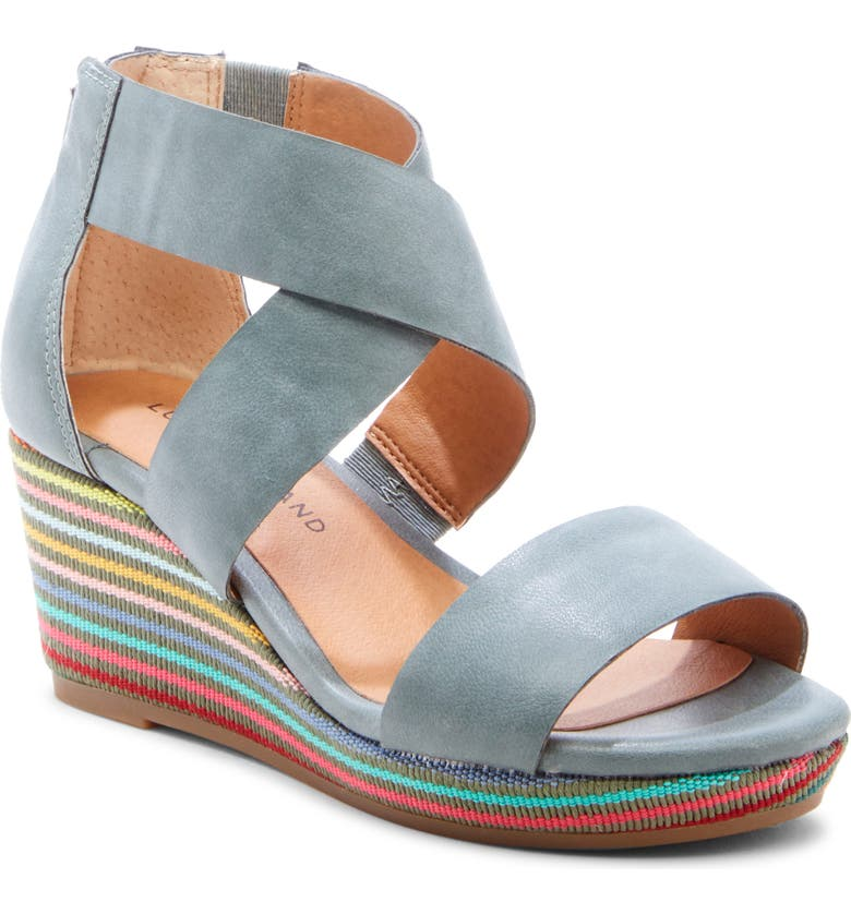 LUCKY BRAND Gwindolin Wedge Sandal, Main, color, 411