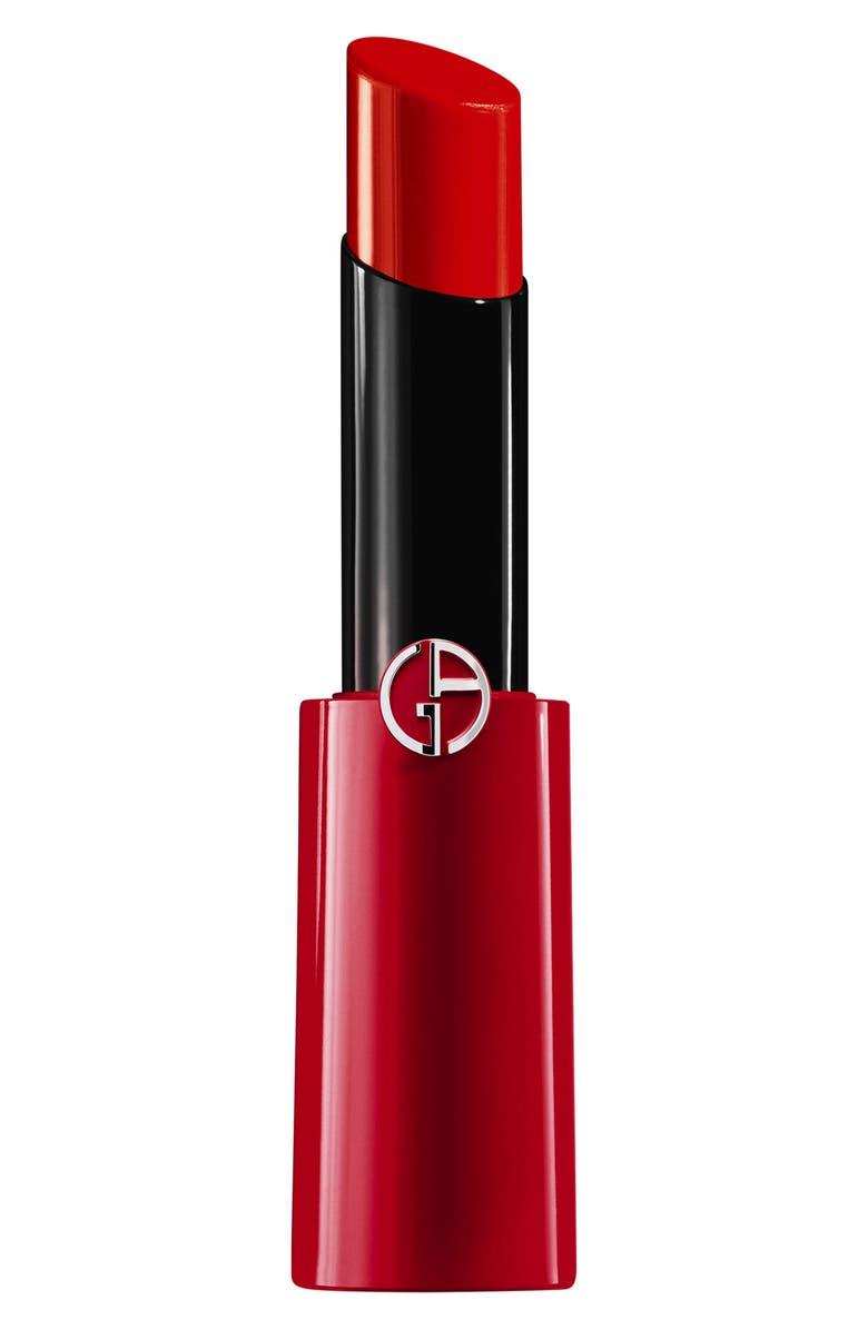 GIORGIO ARMANI Ecstasy Shine Lipstick, Main, color, 303 POP ORANGE