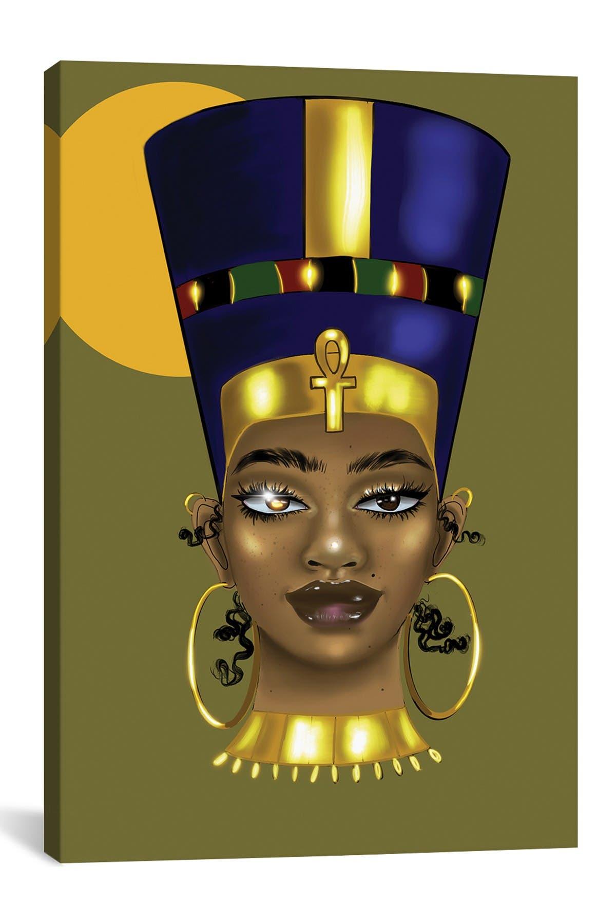 Image of iCanvas Brianna Nefertiti by Zola Arts