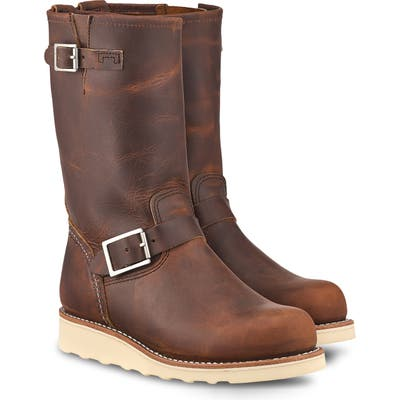 Red Wing Classic Engineer Boot, Brown