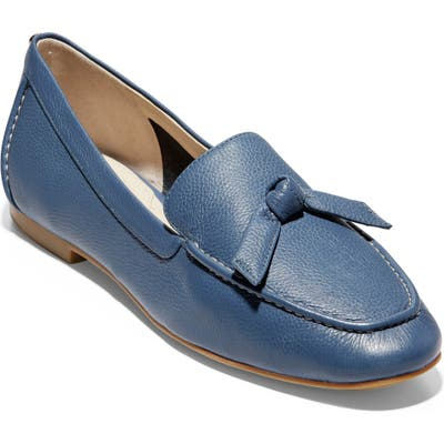 Cole Haan Caddie Bow Loafer, Blue