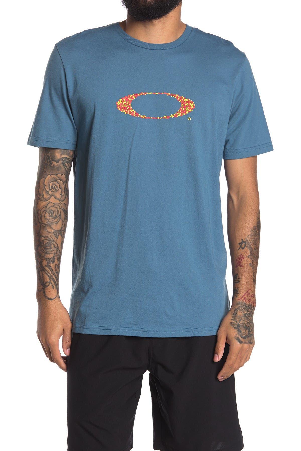 Image of Oakley Pop Ellipse Short Sleeve T-Shirt