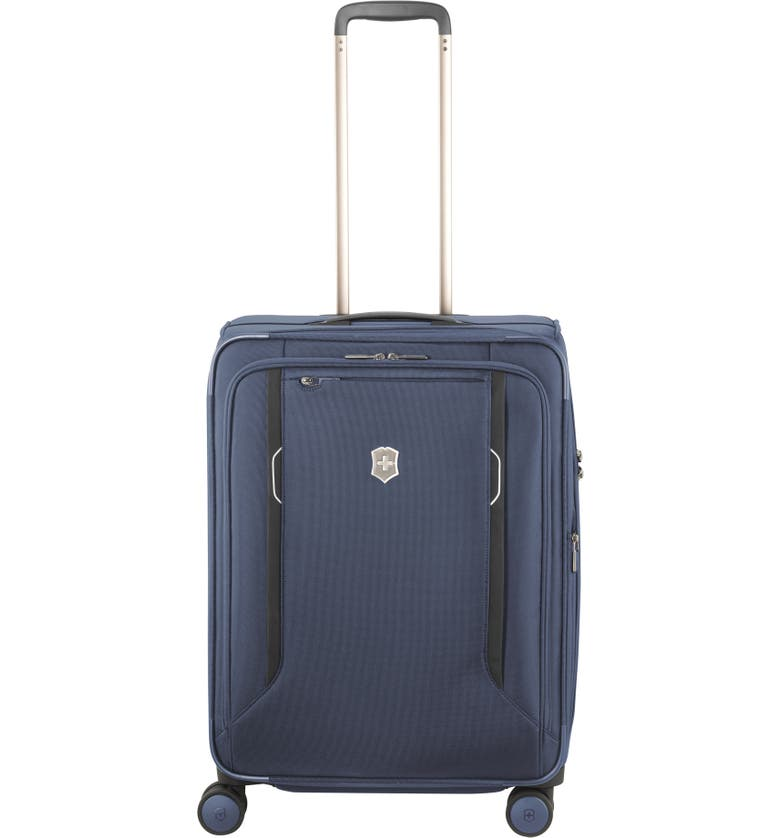 VICTORINOX SWISS ARMY<SUP>®</SUP> Werks 6.0 Medium 25-Inch Spinner Packing Case, Main, color, BLUE