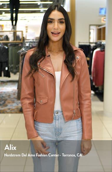 Izzy Genuine Fox Fur Collar Jacket, sales video thumbnail