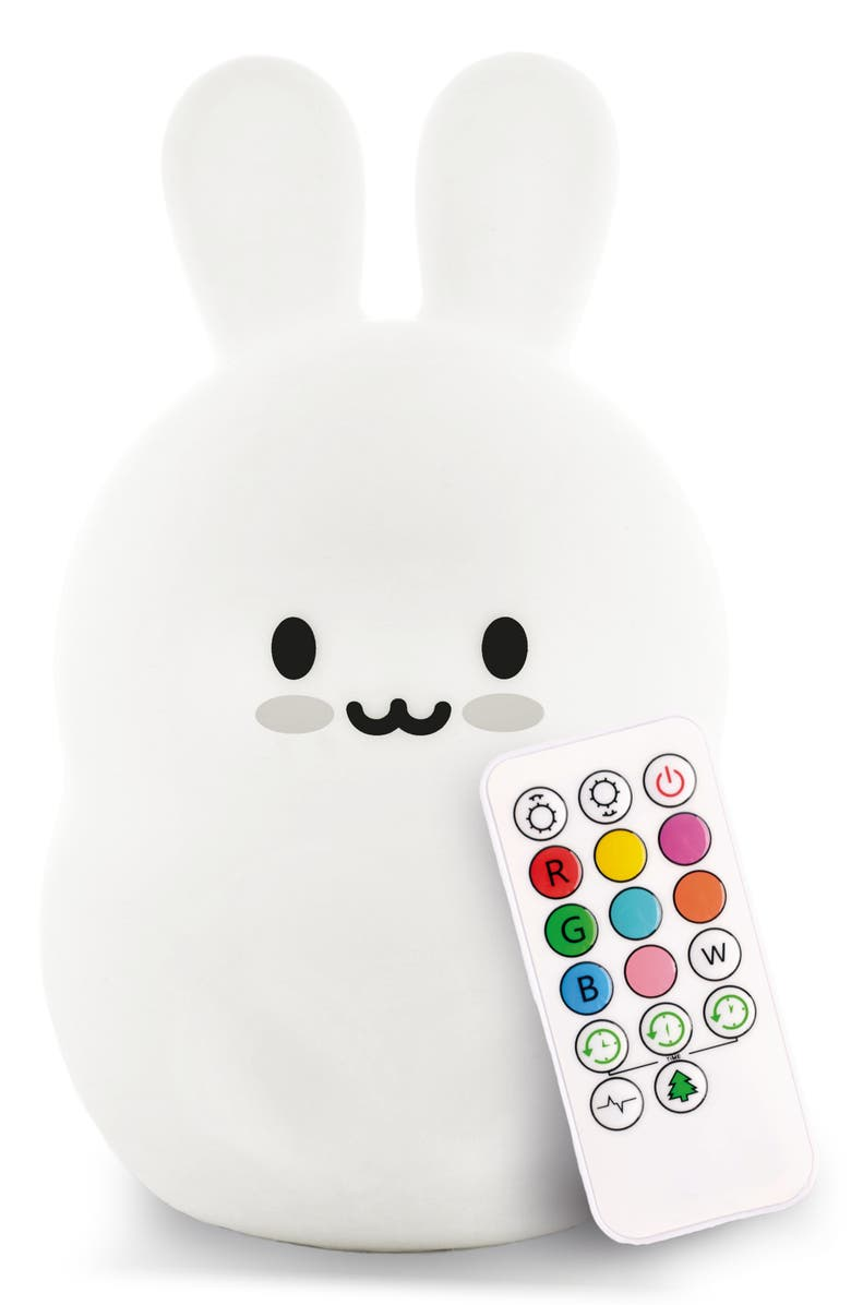 LUMIPETS Bunny Night Light, Main, color, 100