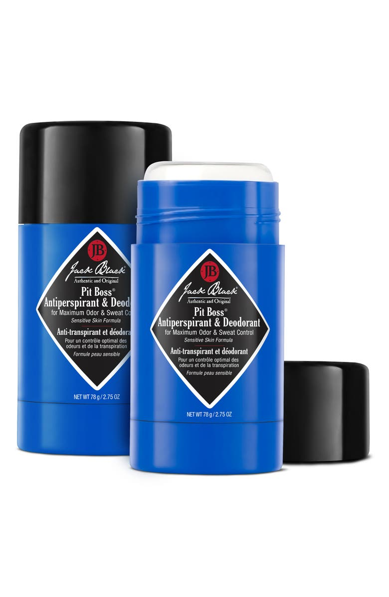 JACK BLACK Pit Boss Antiperspirant & Deodorant Duo, Main, color, NO COLOR