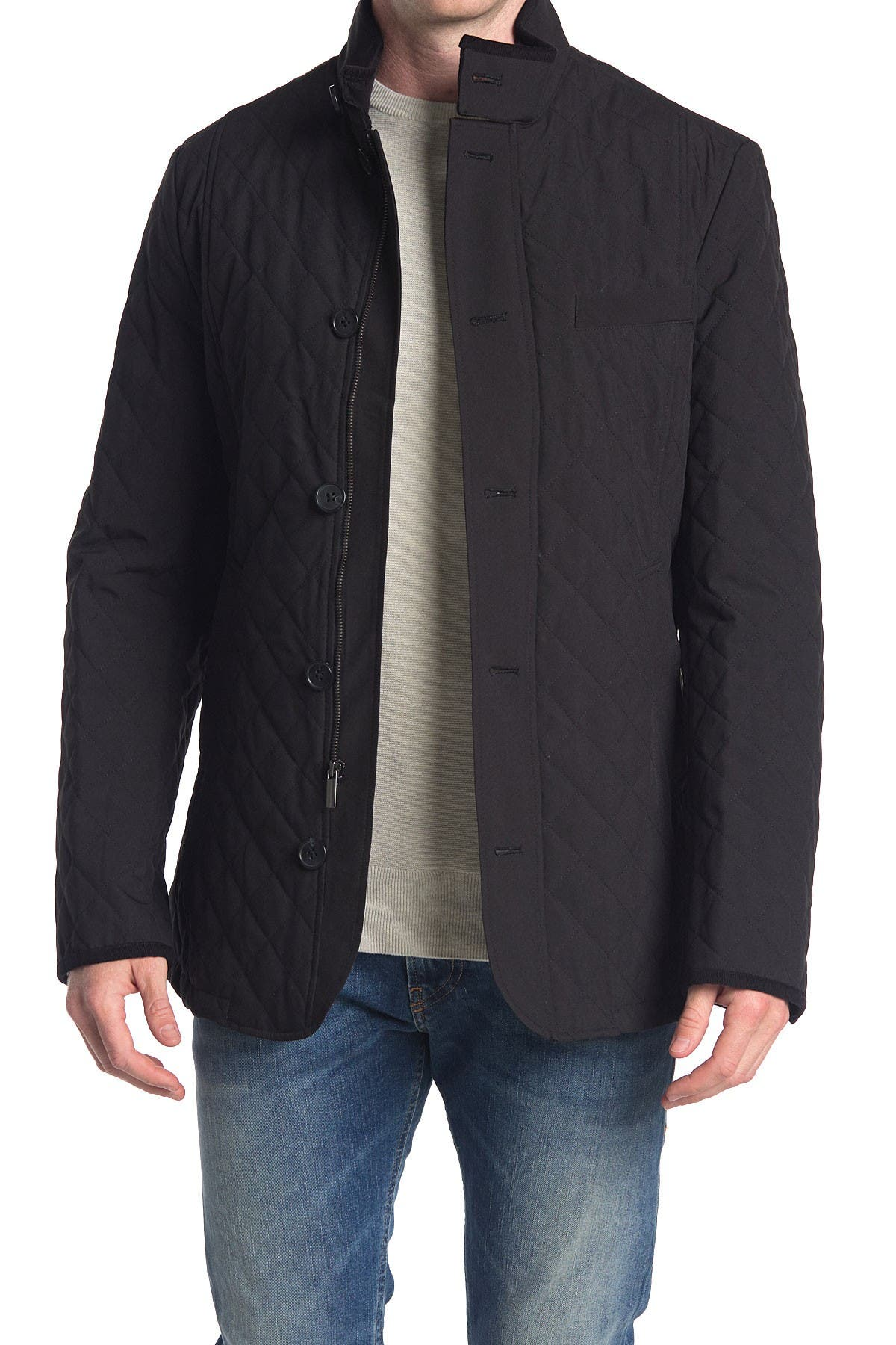 Image of Cardinal of Canada Quilted Mock Neck Jacket