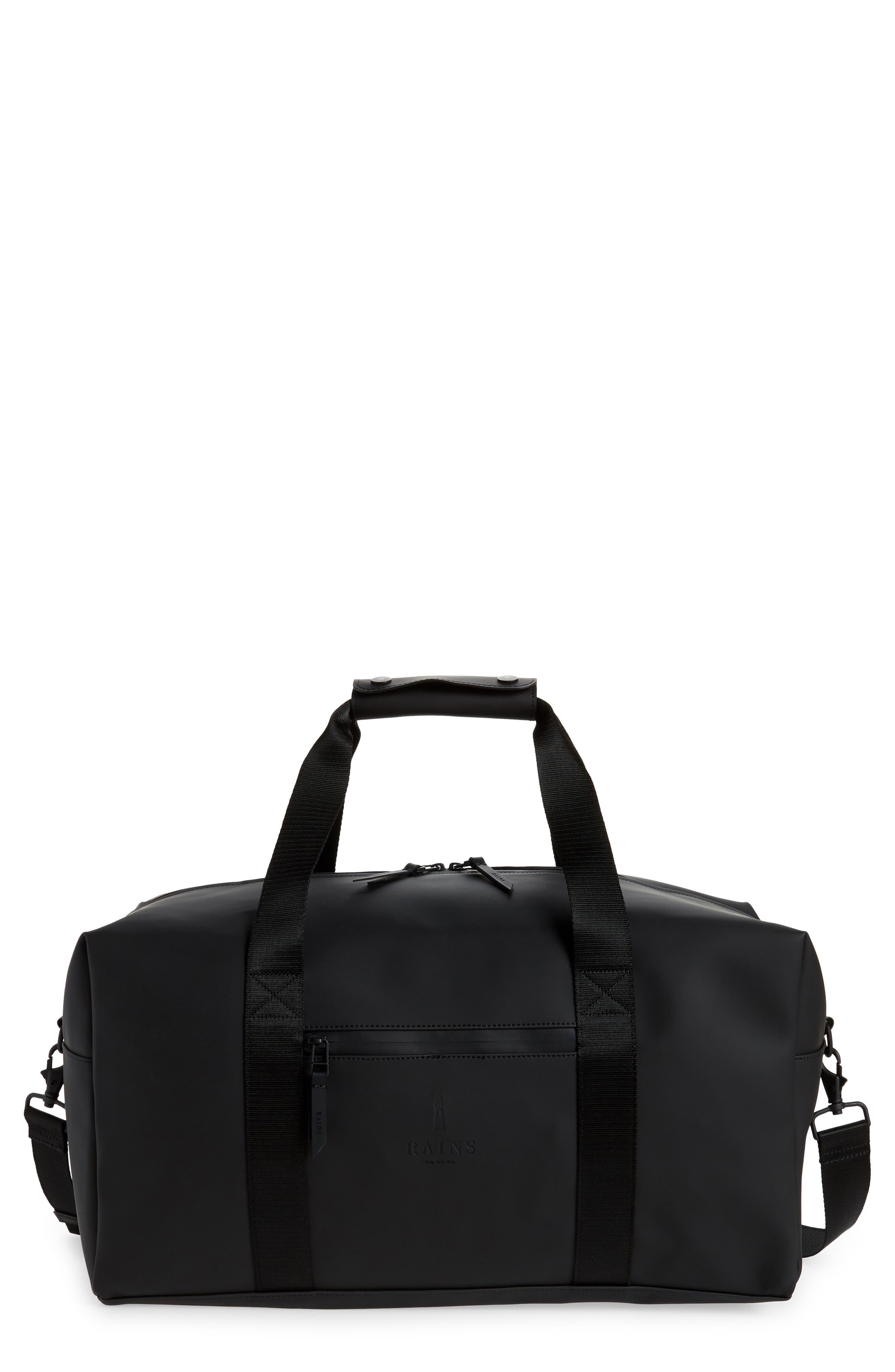 Rains Waterproof Gym Bag - Black