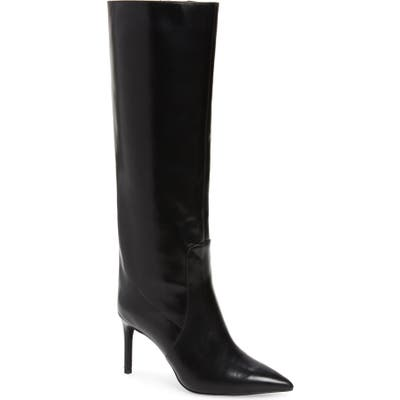 Jeffrey Campbell Arsen Pointed Toe Knee High Boot, Black