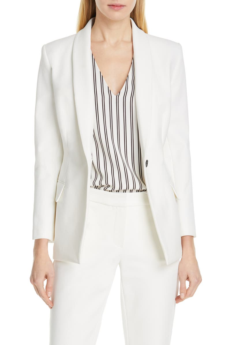 JUDITH & CHARLES Form Suit Jacket, Main, color, 900