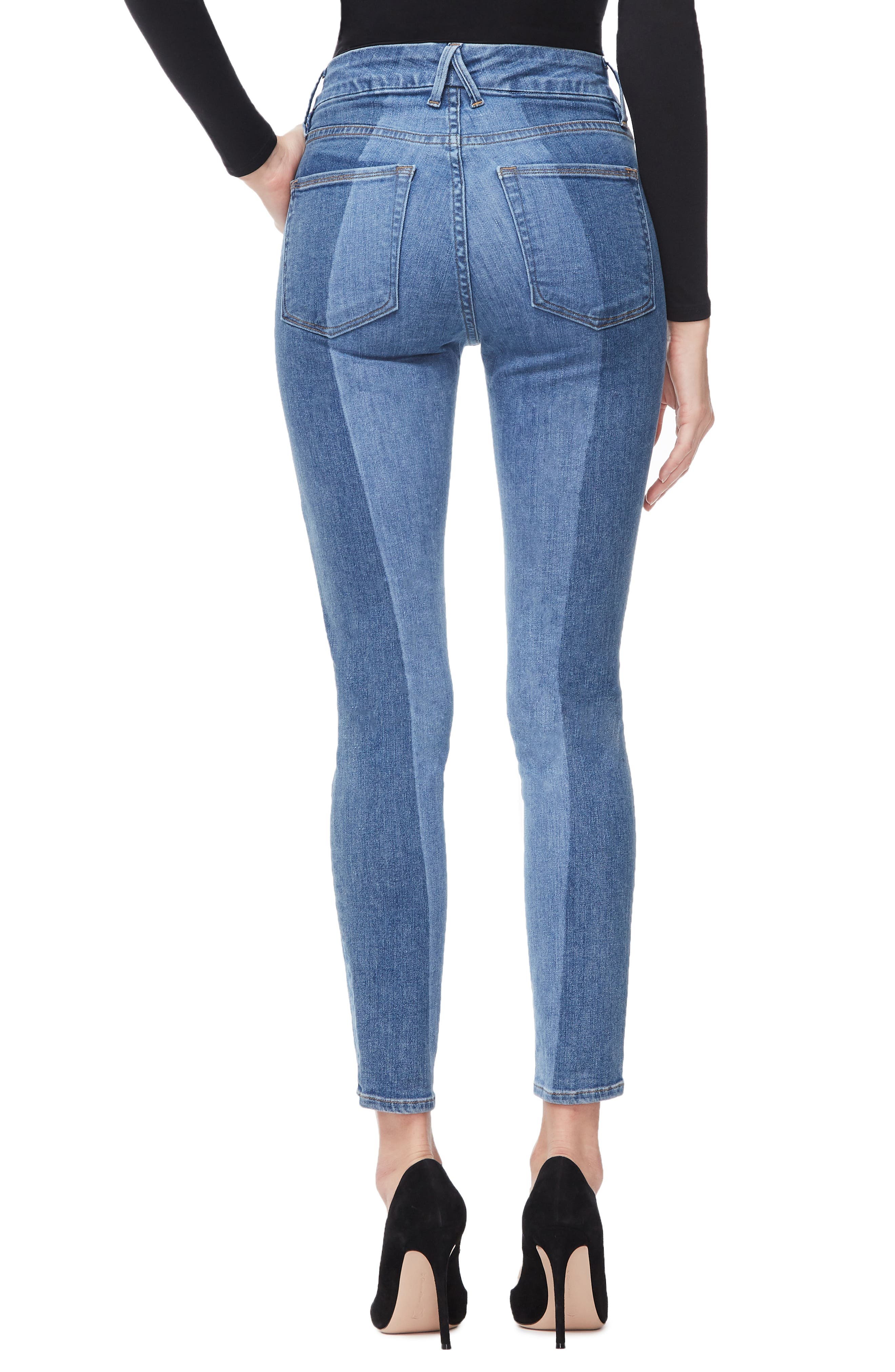 ,                             Good Legs Ankle Skinny Jeans,                             Alternate thumbnail 16, color,                             403
