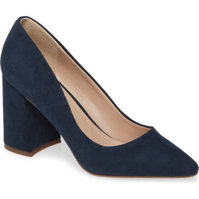 Charles By Charles David Verse Pump- Blue