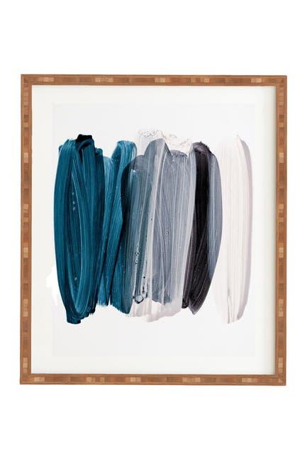 Image of Deny Designs Iris Lehnhardt minimalism 83 Bamboo Framed Art