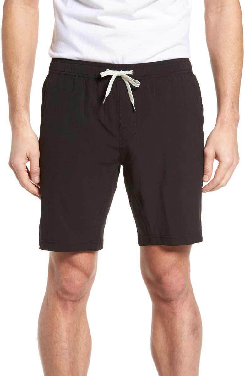 VUORI Kore Shorts, Main, color, BLACK