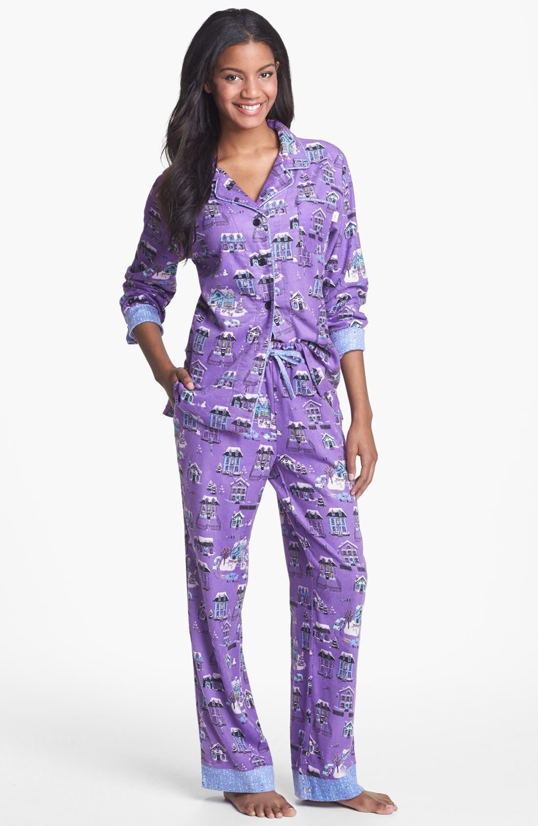 ,                             Flannel Pajamas,                             Main thumbnail 59, color,                             521