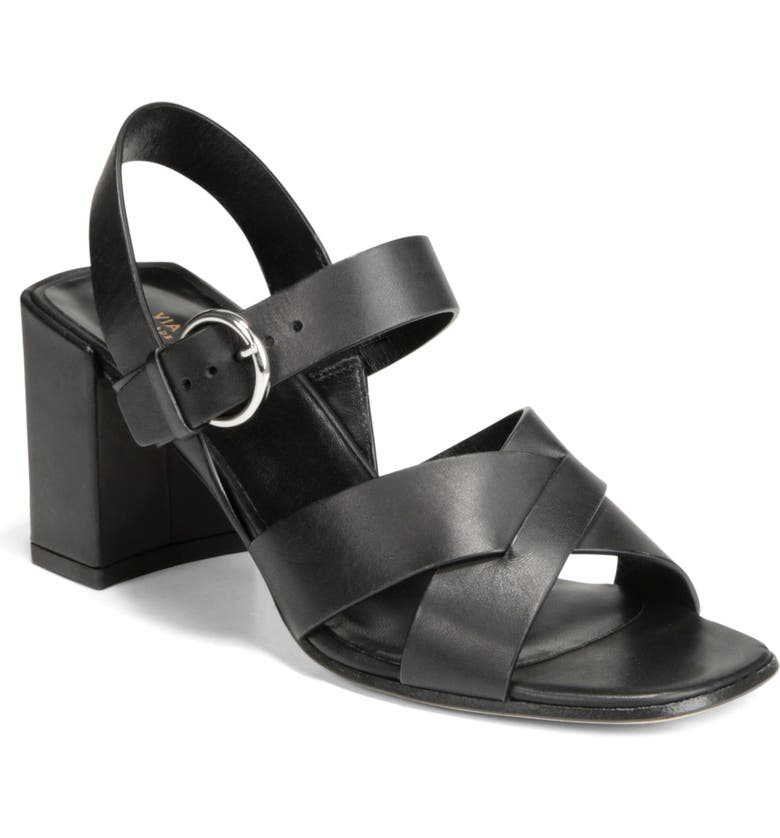 VIA SPIGA Opal Quarter Strap Sandal, Main, color, 004