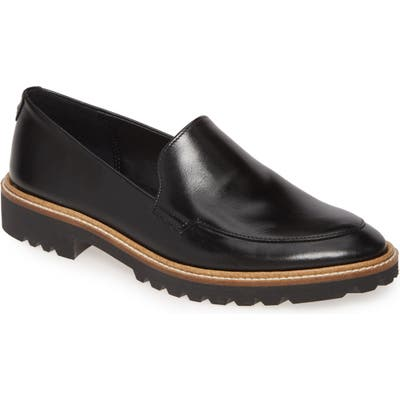 Ecco Incise Tailored Loafer, Black