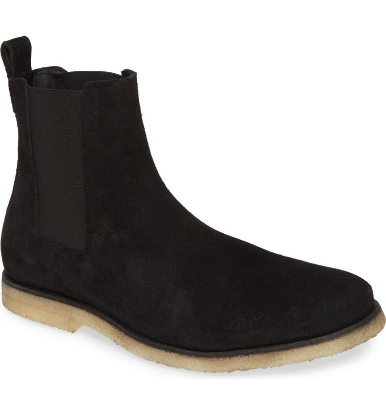 ALLSAINTS Reiner Chelsea Boot, Main, color, BLACK