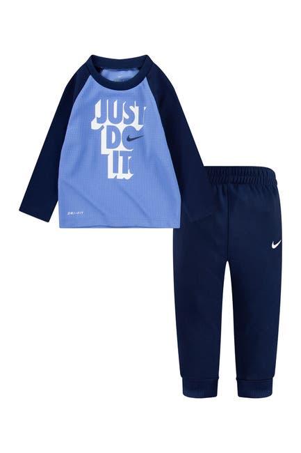 Image of Nike NKB Thermal Long Sleeve Raglan Set