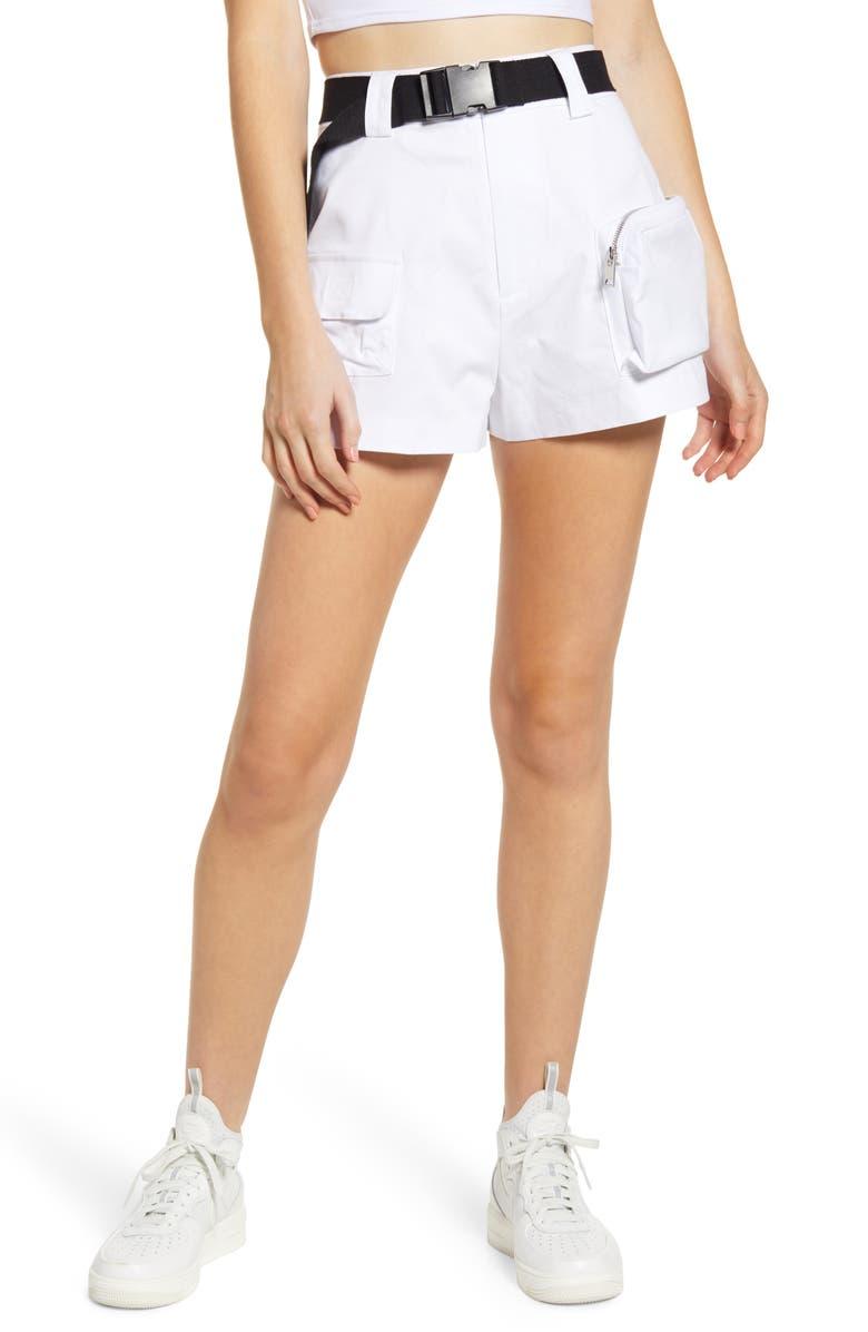 I.AM.GIA Edam Shorts, Main, color, WHITE