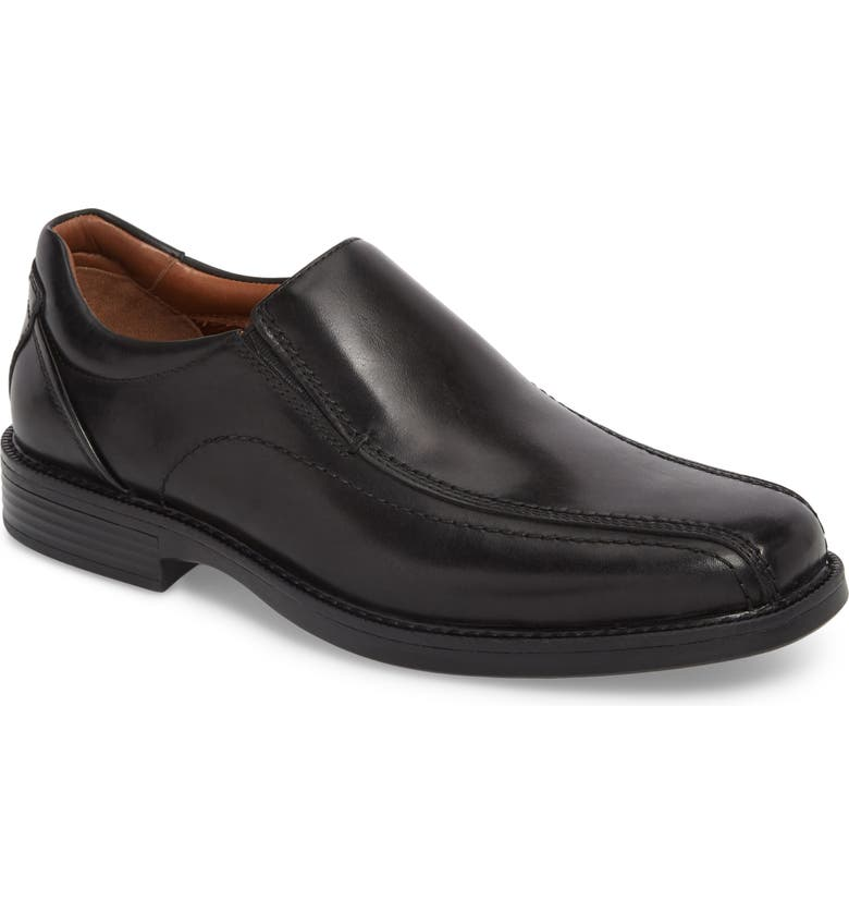 JOHNSTON & MURPHY Stanton Runoff XC4<sup>®</sup> Waterproof Bike Toe Slip-On, Main, color, 001