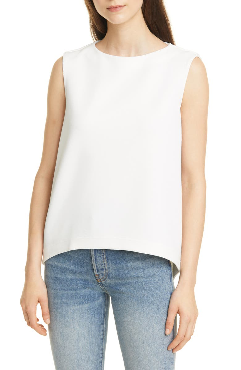 CLUB MONACO Sculptural Top, Main, color, 101