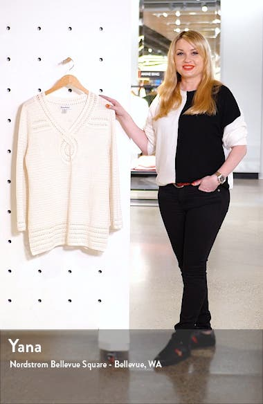 Sand Dollar Shimmer Tunic Sweater, sales video thumbnail