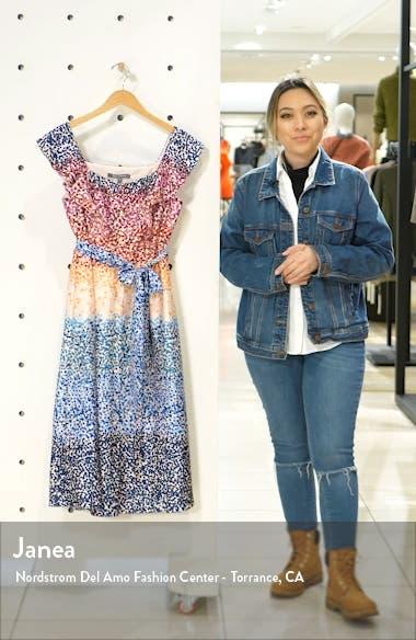 French Twill Midi Dress, sales video thumbnail