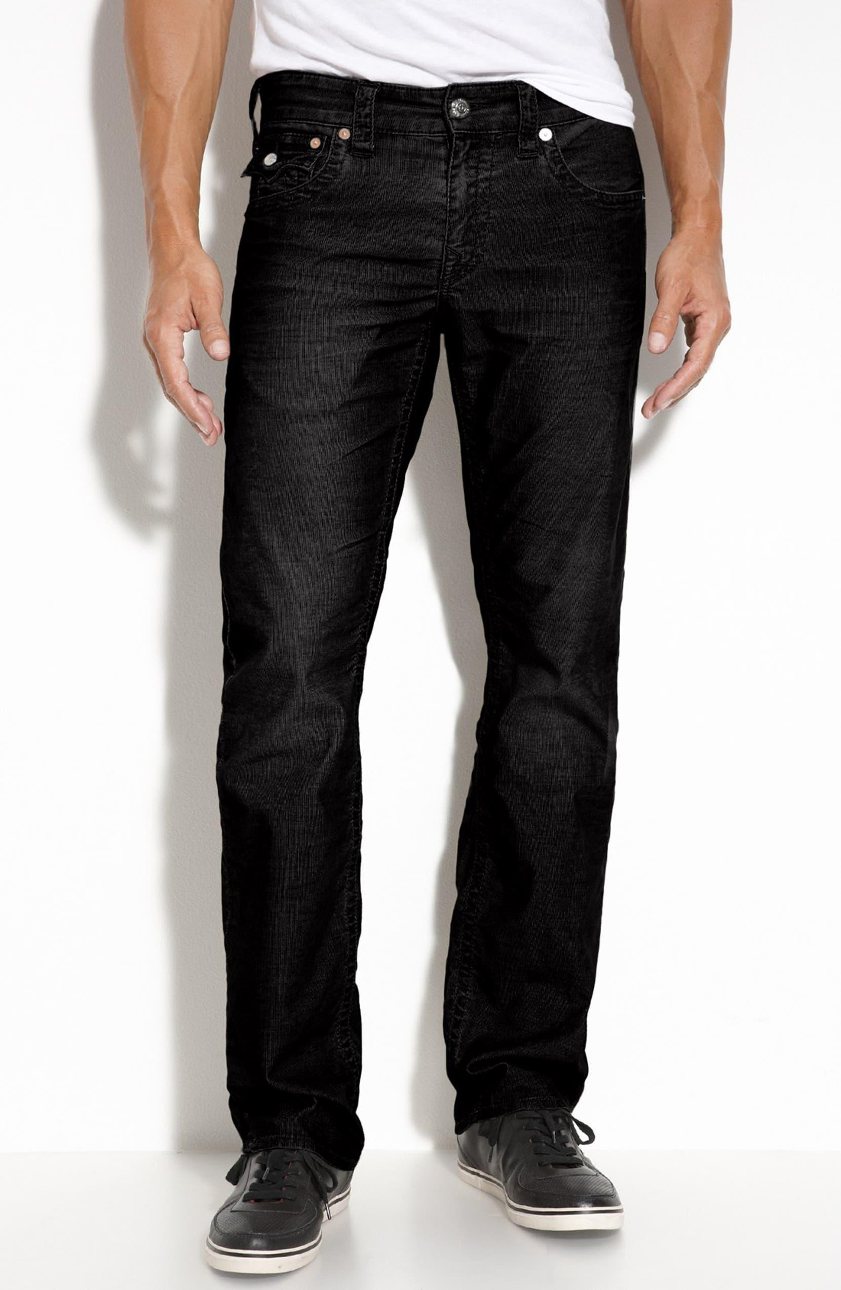 40cb5f939 True Religion Brand Jeans  Ricky  Straight Leg Corduroy Pants (Online Only)