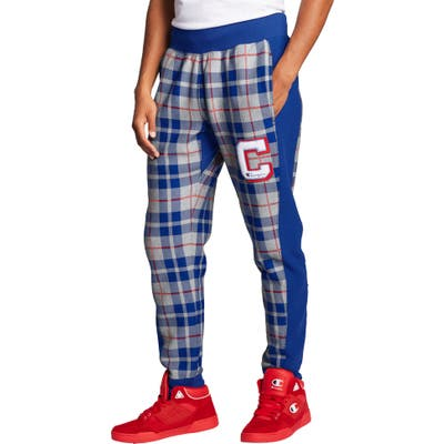 Champion Plaid Print Sweatpants