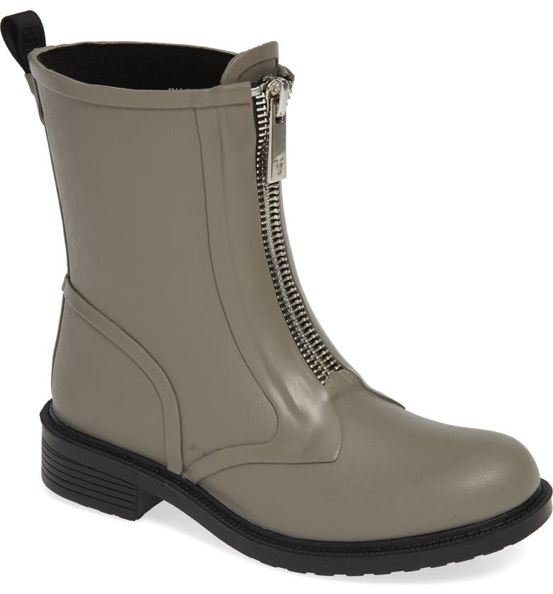 FRYE Storm Waterproof Rain Boot, Main, color, GREY