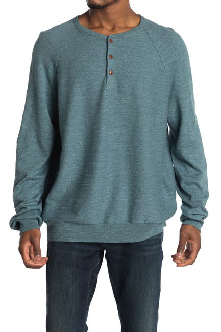 Image of J. Crew Raglan Sleeve Sweater Henley