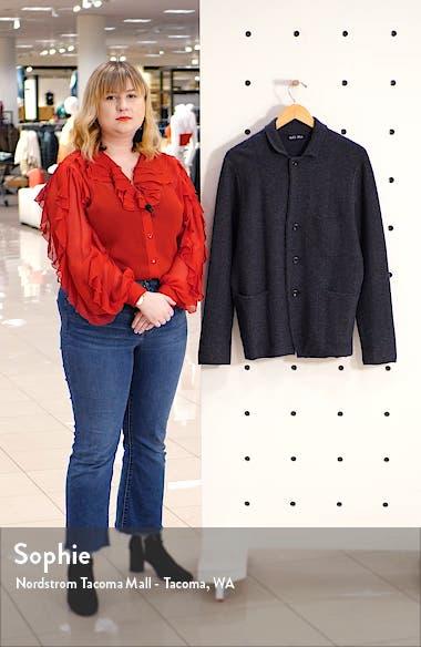 Slim Fit Wool Sweater Jacket, sales video thumbnail