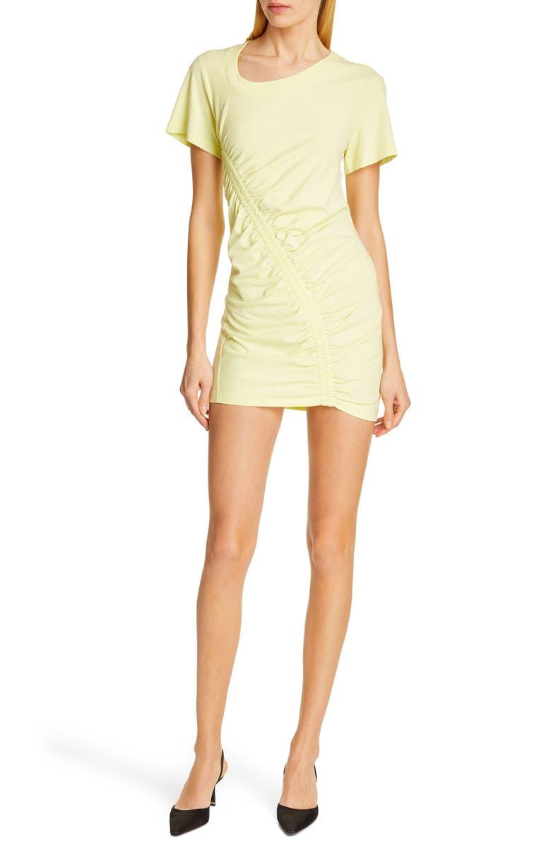ALEXANDERWANG.T Wash & Go High Twist Jersey Dress, Main, color, ZEST