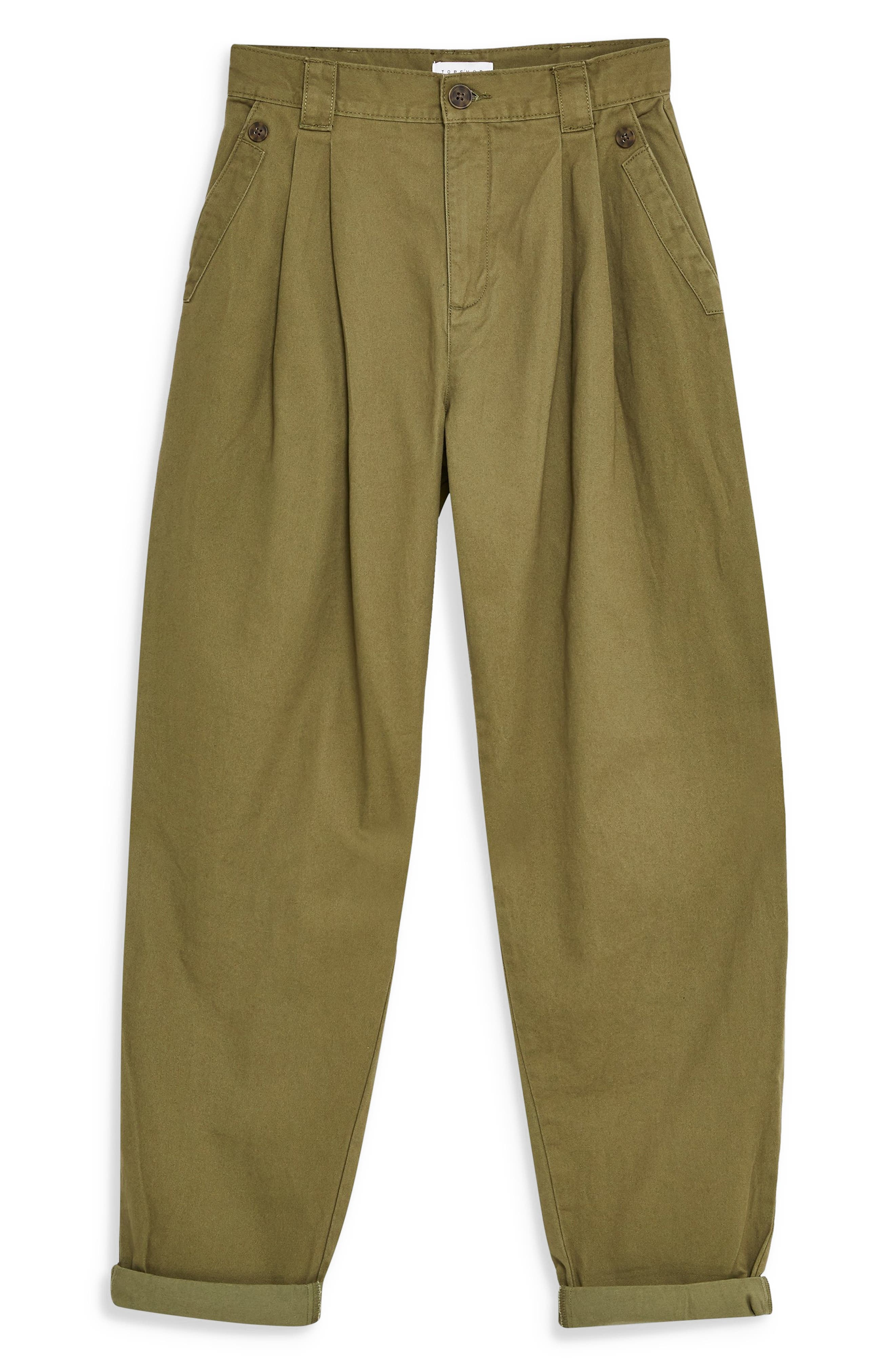 ,                             Caitlin Trousers,                             Alternate thumbnail 4, color,                             OLIVE