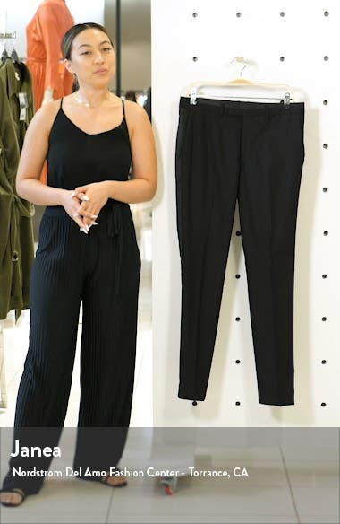Skinny Fit Tuxedo Trousers, sales video thumbnail