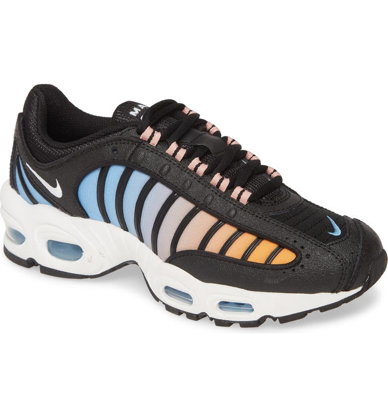 NIKE Air Max Tailwind IV Sneaker, Main, color, BLACK/ WHITE/ CRYSTAL/ BLUE