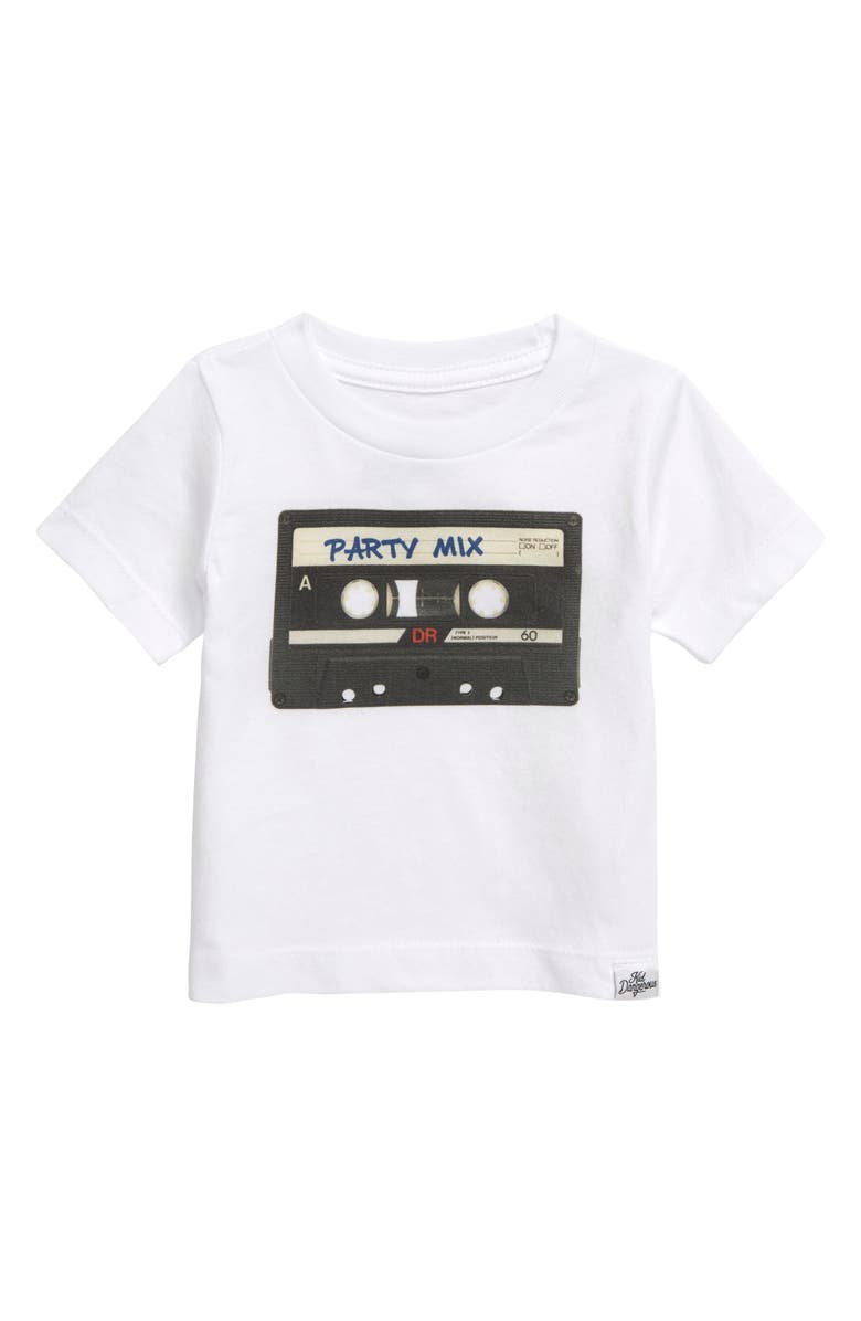 KID DANGEROUS Party Mix Graphic T-Shirt, Main, color, WHITE